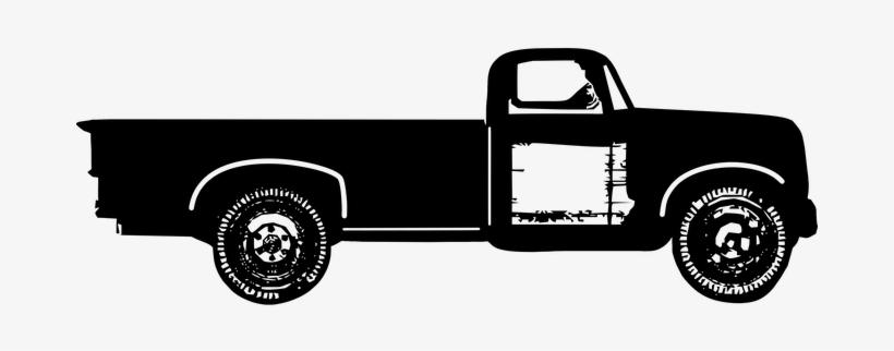Truck, Farm Truck, Vintage Truck.