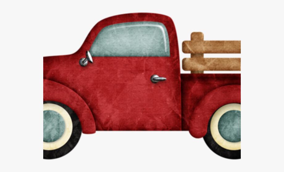 Vintage Truck Clip Art #1109416.