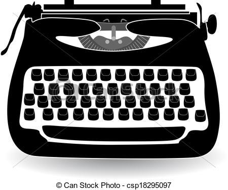 Typewriter Illustrations and Clip Art. 3,573 Typewriter royalty.