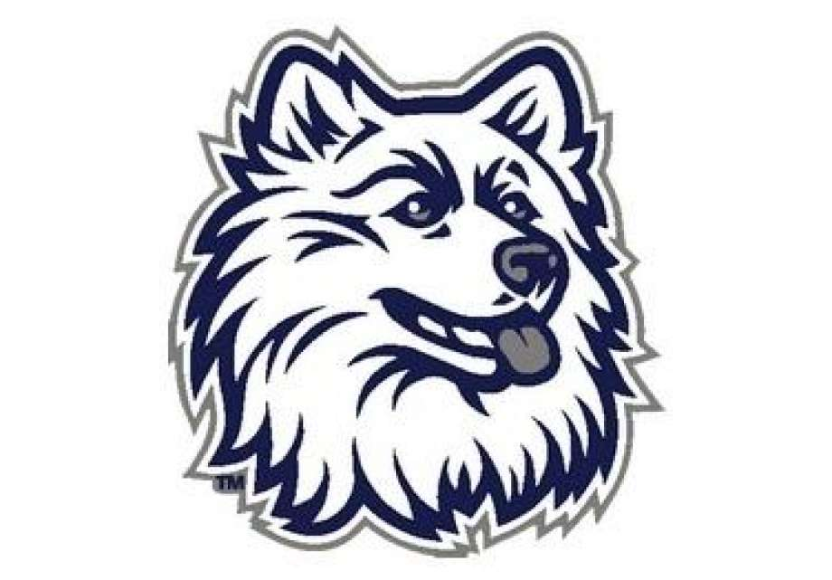 UConn wants Clinton\'s Morgan School to change Husky logo.