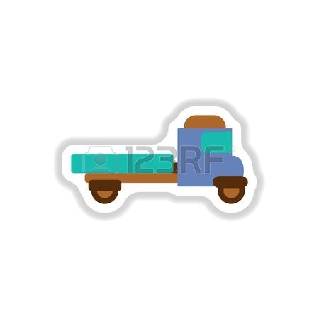 96 Utility Trailer Stock Vector Illustration And Royalty Free.