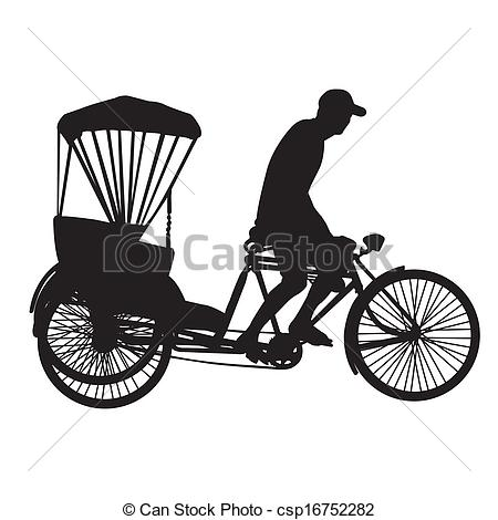 Utility bicycle Vector Clipart Royalty Free. 49 Utility bicycle.