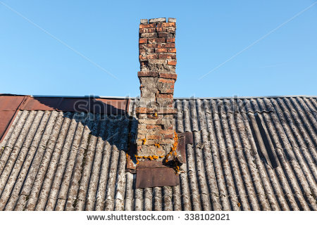Chimney Roof Stock Photos, Royalty.