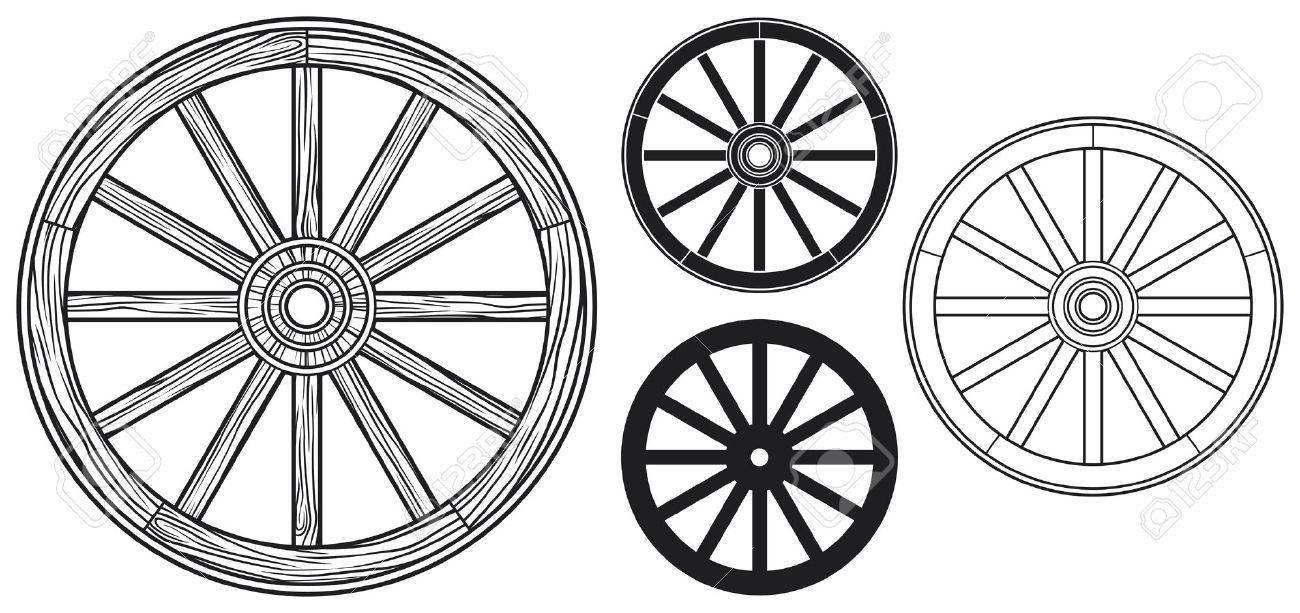 Broken Wheel Clip Art : Old wagon wheel clipart clipground