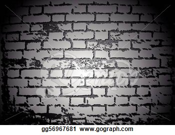 Brick Black And White Clipart.