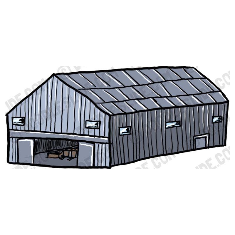 Warehouse Clipart.