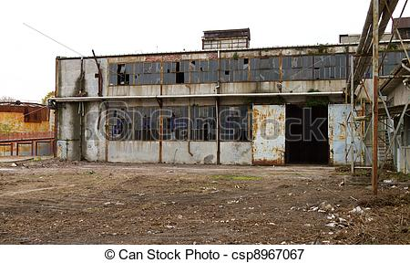 Picture of Old Abandoned Factory csp8967067.