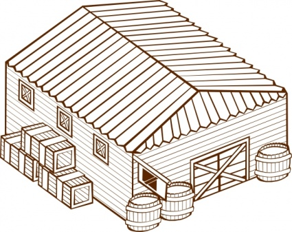 Warehouse clip art vector, free vector images.