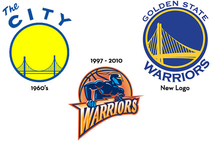 Warriors old Logos.