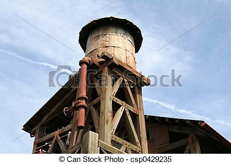 Stock Images of Old Water Tower csp0429235.