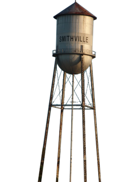 Old water tower clipart.