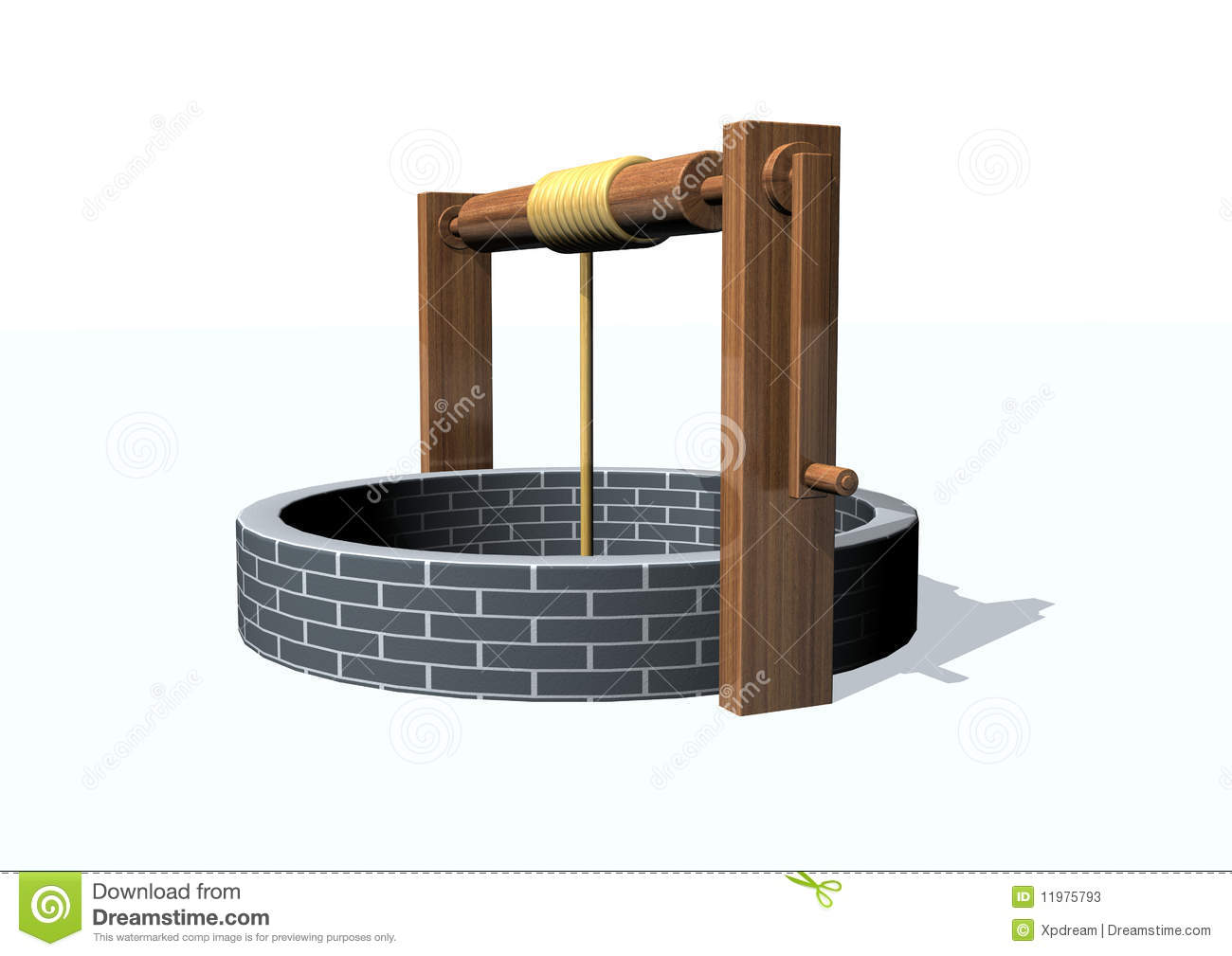 Water Well Clipart Old Well Stock Photos #opV2XH.
