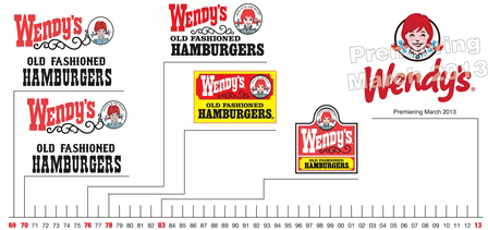 brandchannel: Wendy\'s New Logo Leads Transformation for Brand.