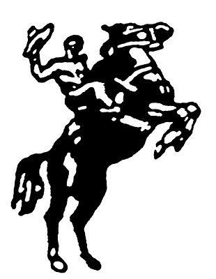 Old West Cowboy clip art.