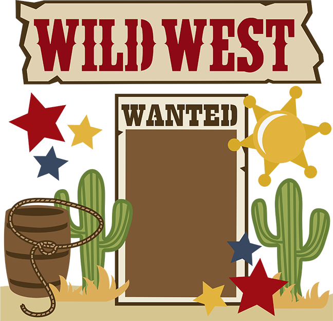 Old west clipart.