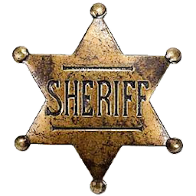 Download Free png Old West Sheriff Badge by cmnixon on.