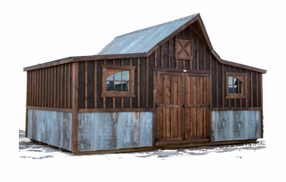 Old West Barn Flipped.