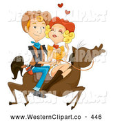 Royalty Free Romance Stock Western Designs.