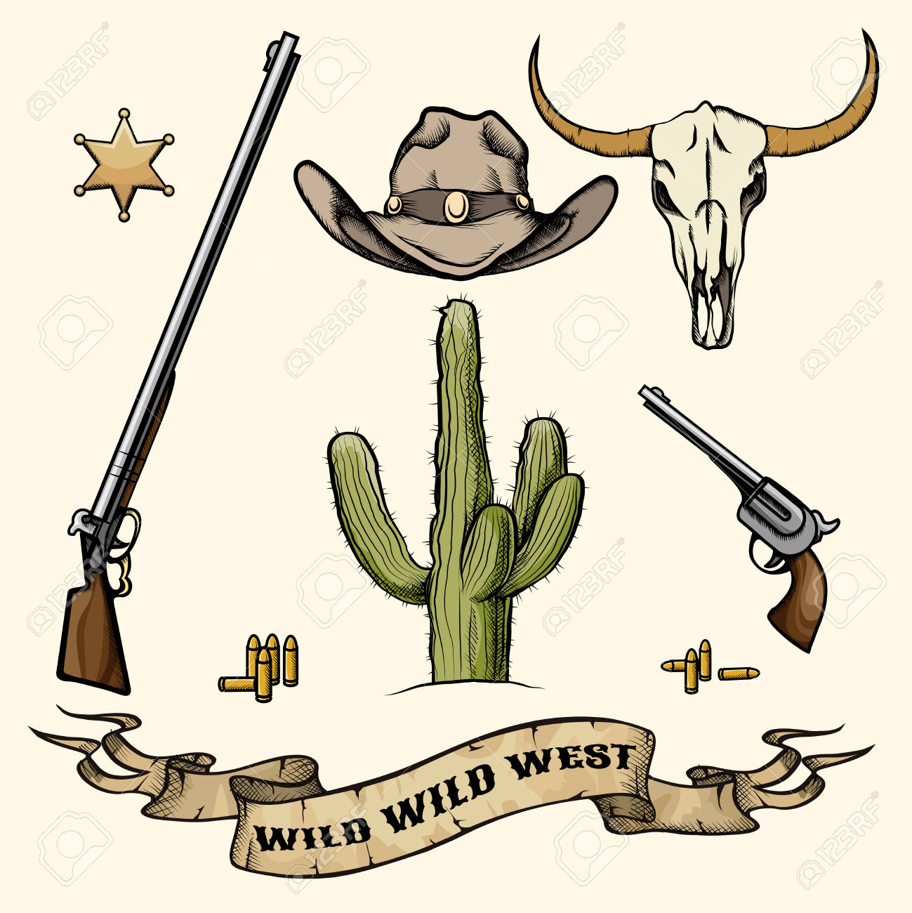 20,035 Old West Cliparts, Stock Vector And Royalty Free Old West.