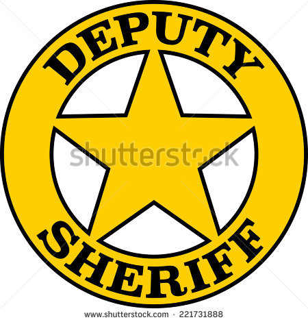 Sheriff Badge Stock Images, Royalty.