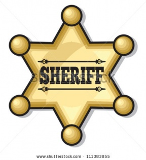 Sheriff Star Clip Art.