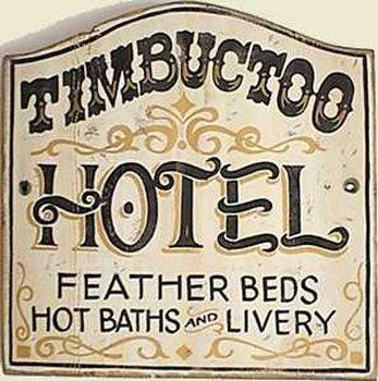 old west sign our master craftsman still make old west signs.