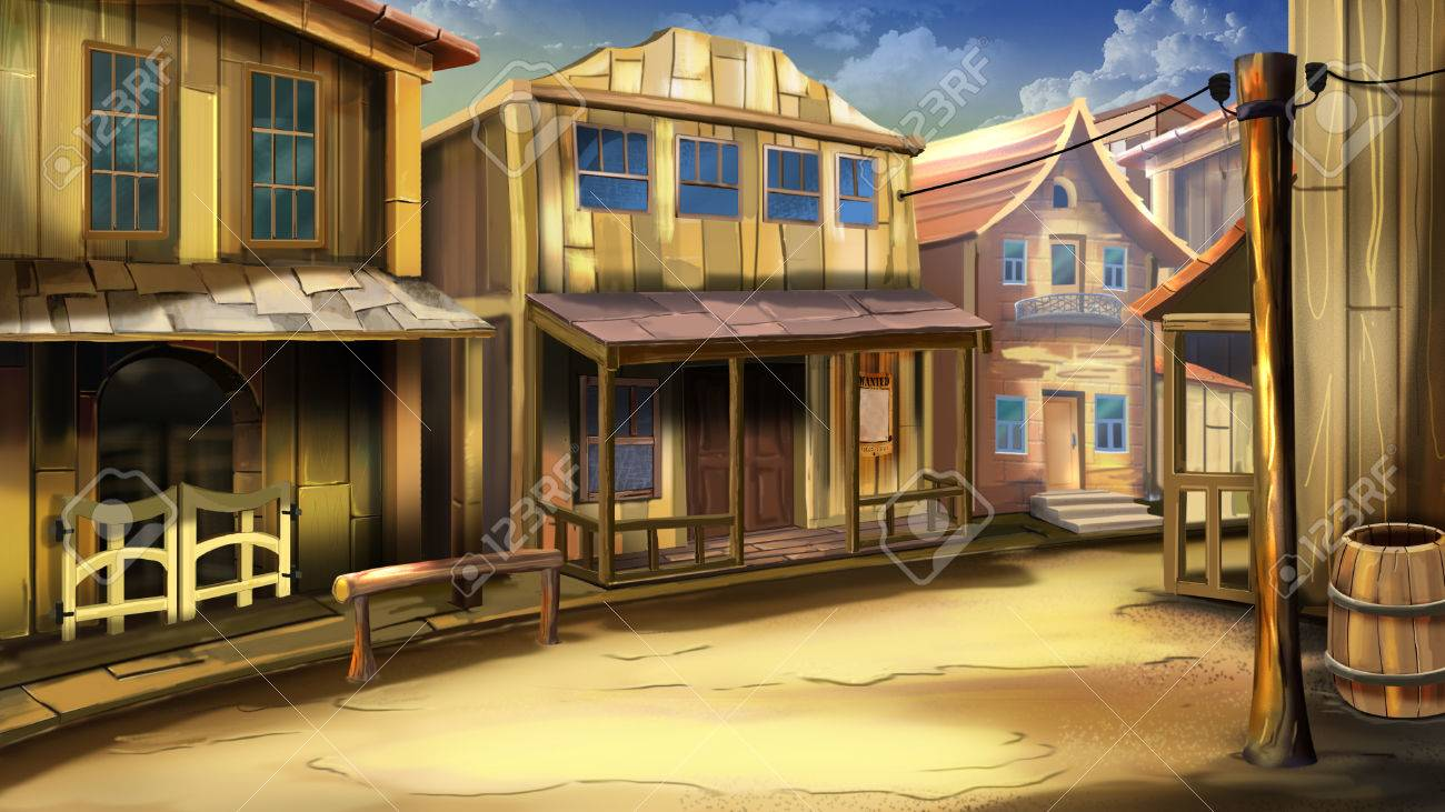 463 Wild West free clipart.
