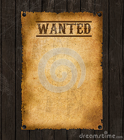 Wanted Poster Template  BesikEightyCo