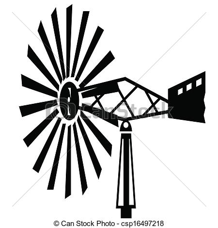 Old windmill Vector Clip Art Royalty Free. 915 Old windmill.