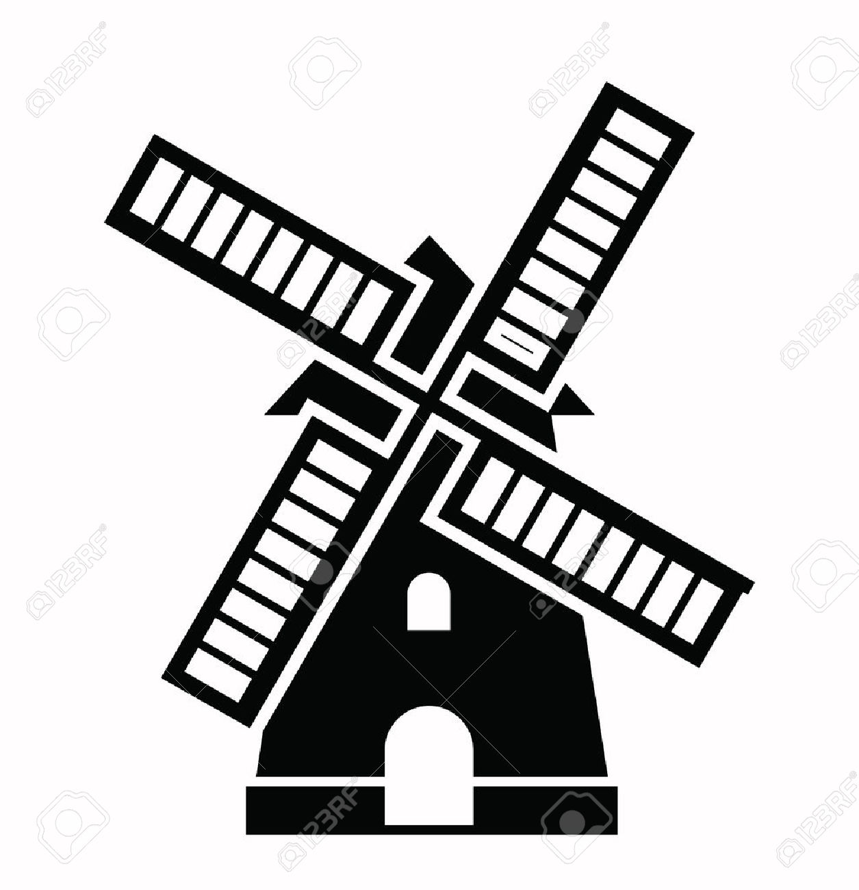 2,322 Old Windmill Stock Illustrations, Cliparts And Royalty Free.