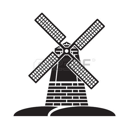 2,170 Old Windmill Stock Illustrations, Cliparts And Royalty Free.