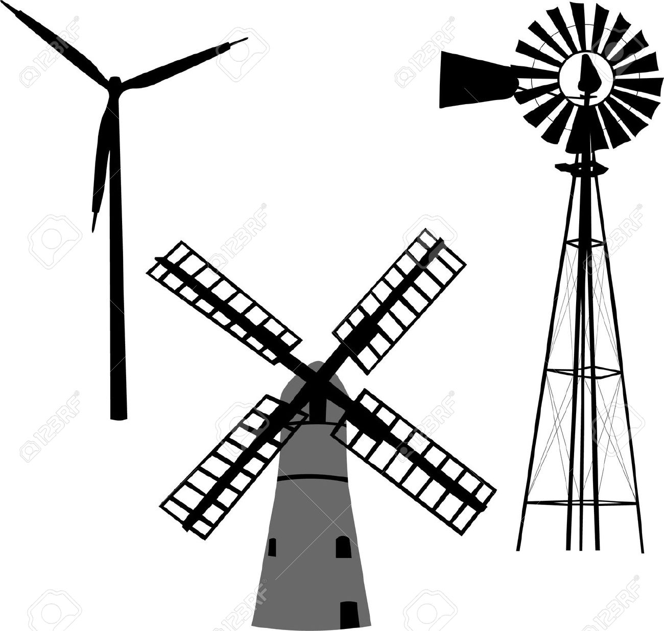 Windmill Clipart & Windmill Clip Art Images.