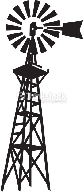 Line Drawing Windmill : Old windmill clipart clipground