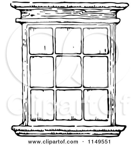 White window clipart #7