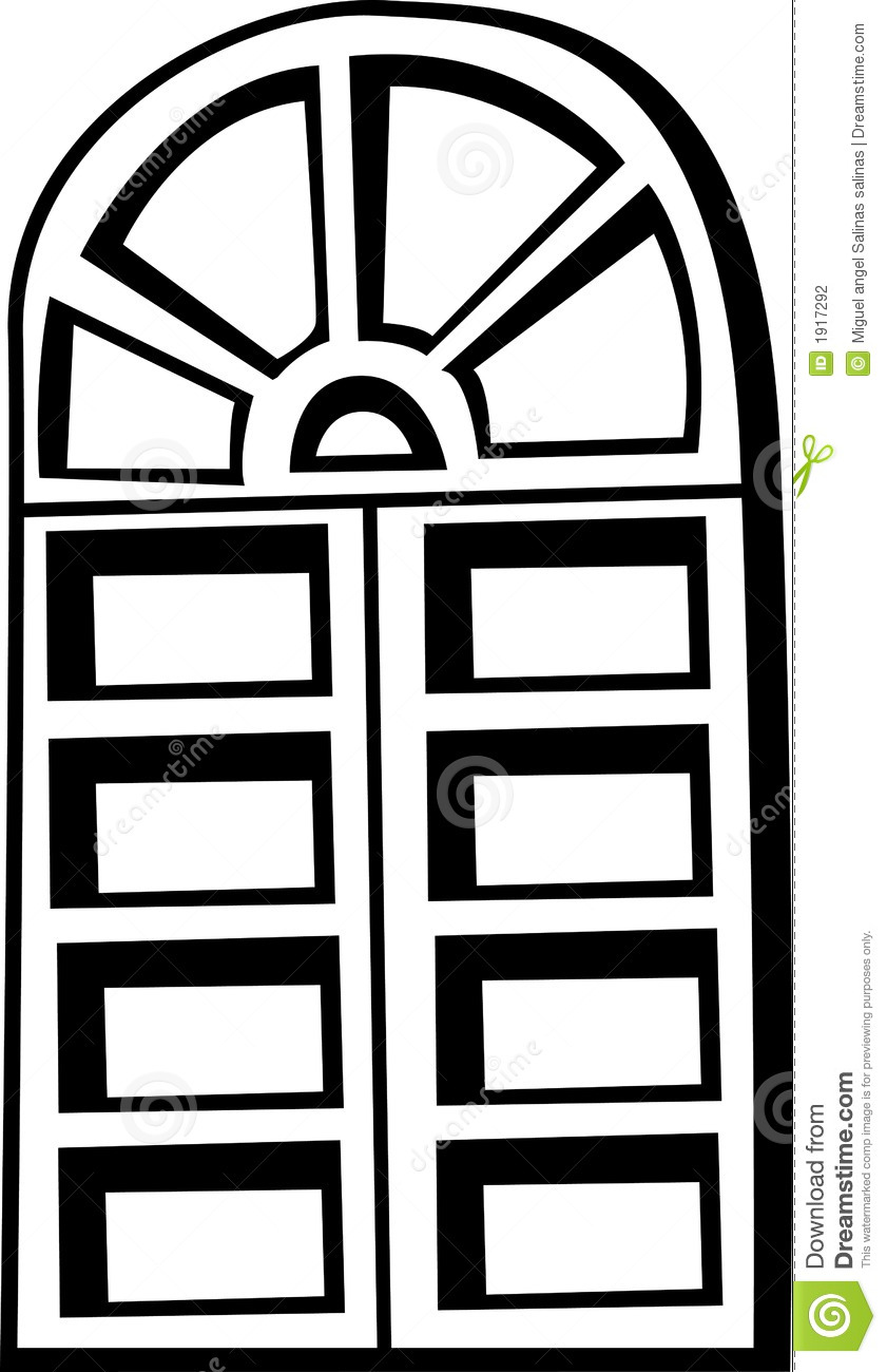 Window Clipart Old Closed Window Vector #OJ8oki.