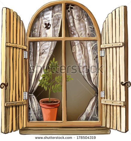 Old Window Clipart Clipground