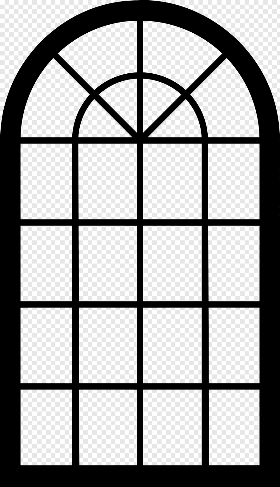 Old Window free png.
