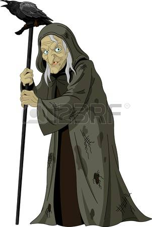 3,407 Old Witch Stock Illustrations, Cliparts And Royalty Free Old.