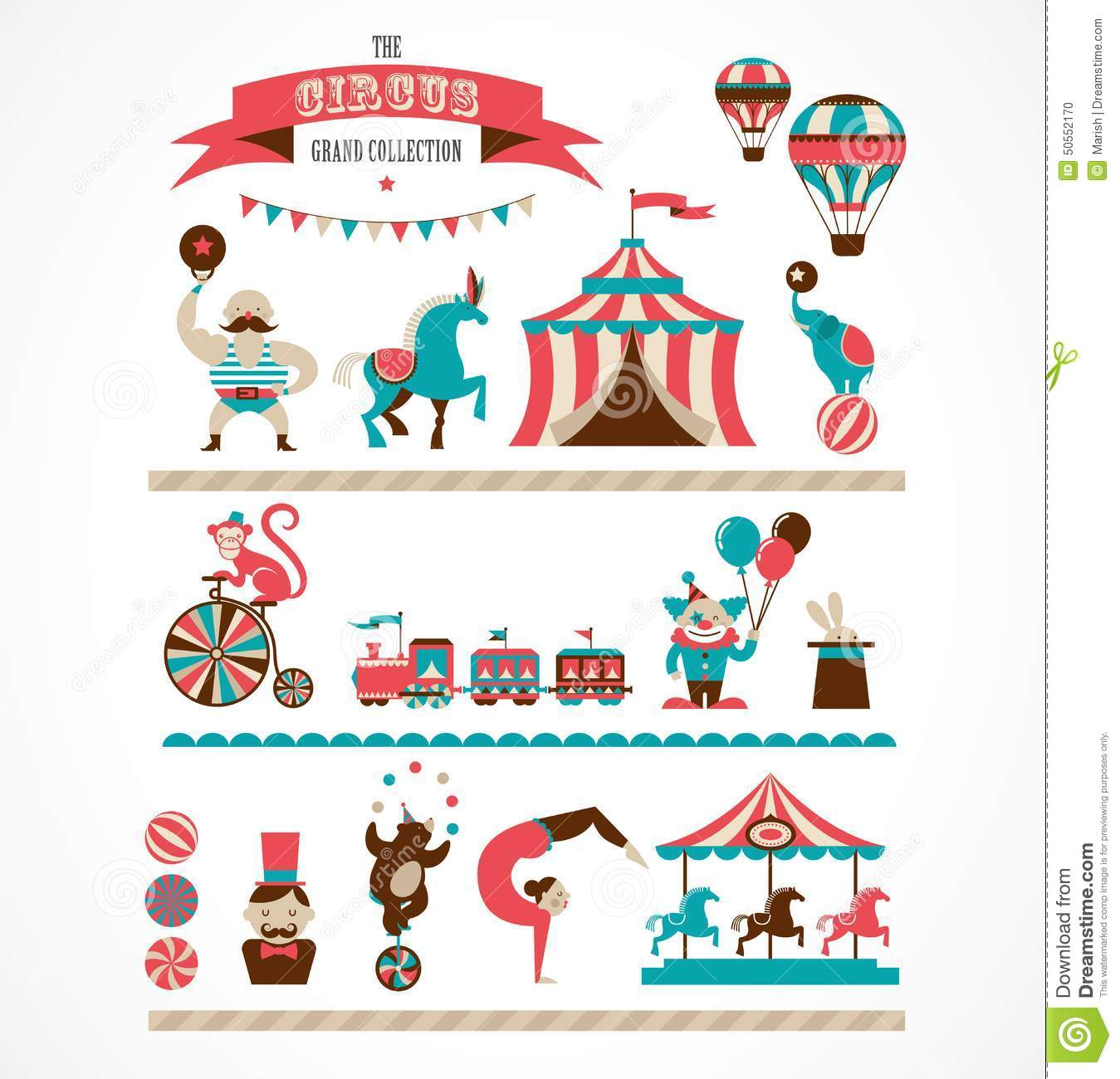 Carnival Stock Illustrations.