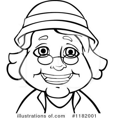 Senior Woman Clipart #1182001.