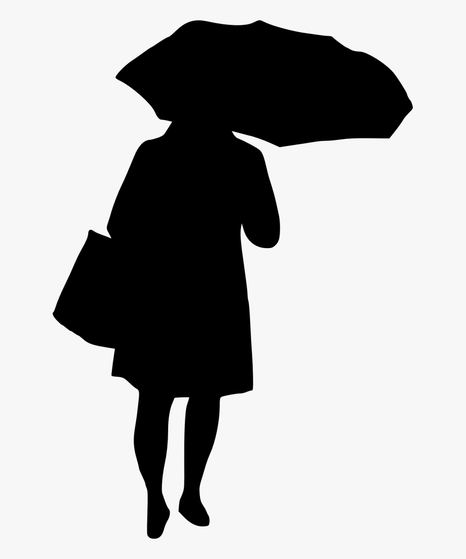 Silhouette Old Woman Png , Transparent Cartoon, Free.