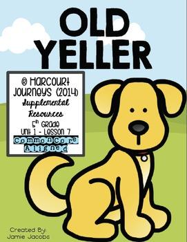 Old Yeller (Journeys 5th Gr..