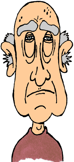 Old Guy Clipart.