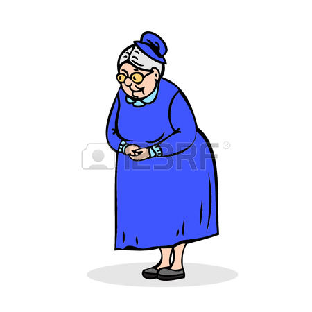 14,864 Elderly Woman Cliparts, Stock Vector And Royalty Free.