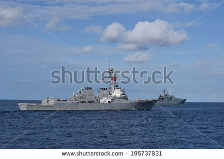 Us Navy Ship Stock Images, Royalty.
