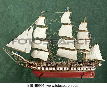 Stock Image of Ship model k19169995.