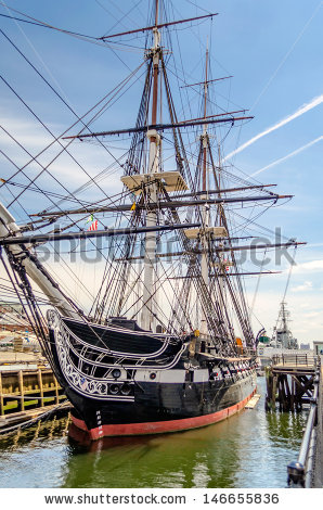 Uss Constitution Stock Photos, Royalty.