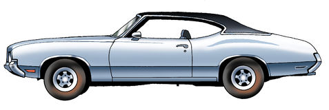 Oldsmobile Stock Illustrations.