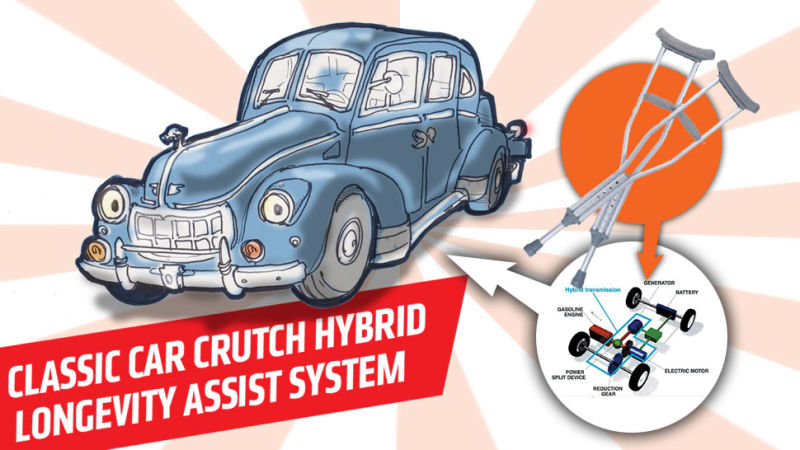 How Hybrid Tech Could Help Preserve Rare Old Cars.