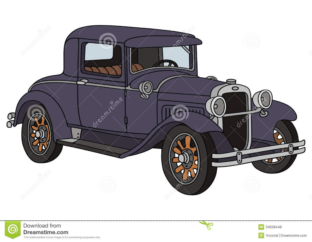 Old Timer Royalty Free Stock Photos.